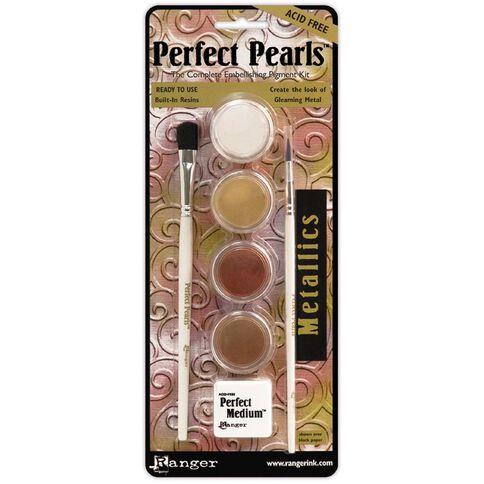 Ranger Perfect Pearls Metallics 4 Pack