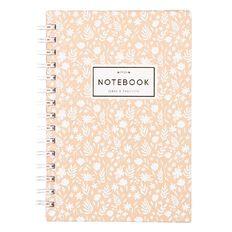 Uniti Winter Bloom Hardcover Notebook Spiral A5