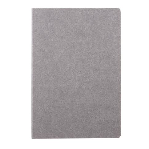 Impact Hardcover PU Notebook Grey A4