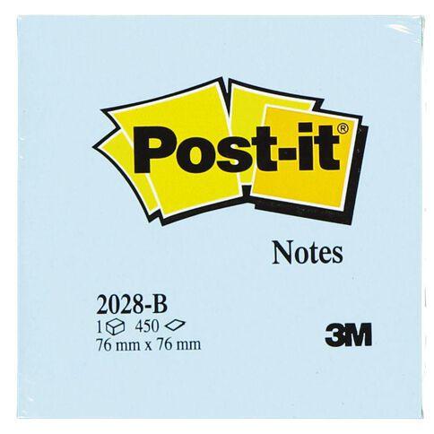 Post-It Notes 76mm x 76mm 2028-B Blue
