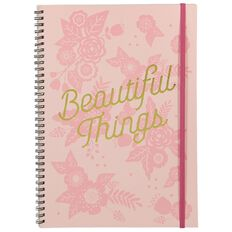 Banter Beautiful Things Spiral Notebook A4