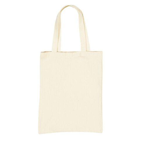 Uniti DIY Canvas Shopping Bag Natural 30 x 40