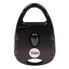 Yale Novelty Padlock Street Style 4 Digit Combination Black