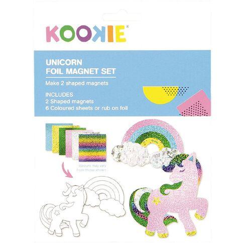 Kookie Foil Magnet Set Unicorn 2 Pack
