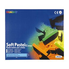 Mungyo Soft Pastels 24 Pack