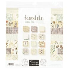 Couture Creations Seaside and Me Paper Pad 24 12in x 12in