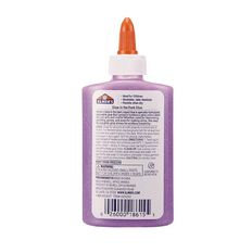 Elmer's Glow in the Dark Liquid Glue 147ml Purple