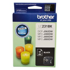 Brother Ink LC231 Black (260 Pages)