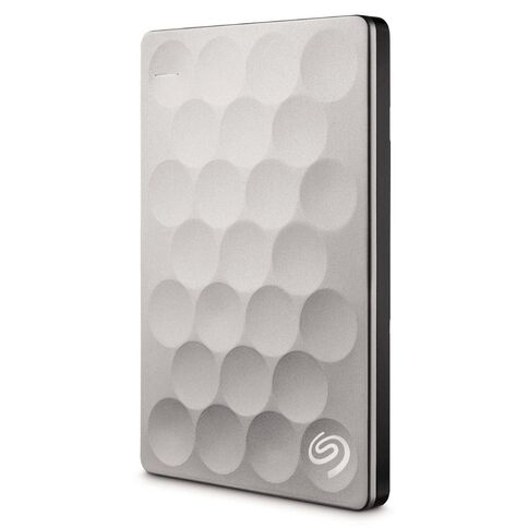 Seagate Backup Plus Ultra Slim 2TB Platinum Multi-Coloured
