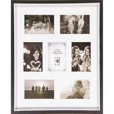 Uniti Two Tone Collage Box Frame Black 40 x 50cm Black