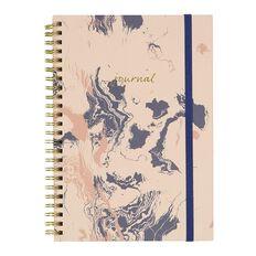 Uniti F&F Hardcover Spiral Notebook Journal Foil Pink A5