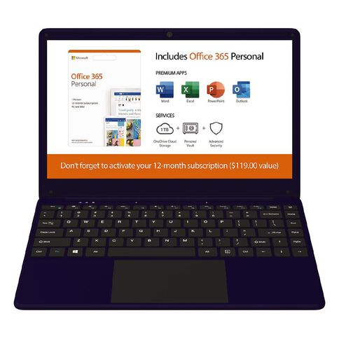 Everis 14 Inch Laptop E2033B Blue