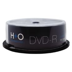 H+O Dvd-R 16X 4.7 GB 25-Pack