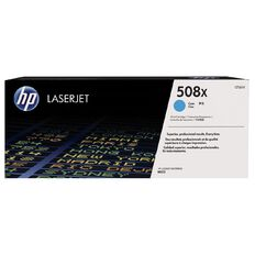 HP 508X Cyan Contract LaserJet Toner Cartridge (9500 Pages)