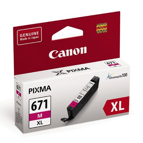 Canon Ink CLI671XL Magenta (690 Pages)