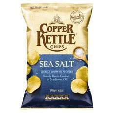 Copper Kettle Chips Salt and Vinegar 150g