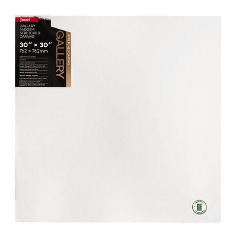 Jasart Gallery 1.5 inch Thick Edge Canvas 30x30 inches