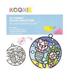 Kookie Sticker Suncatcher Kit Purrmaid