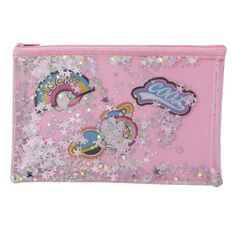 Uniti Fun & Funky Fun Life Glitter PVC Pencil Case