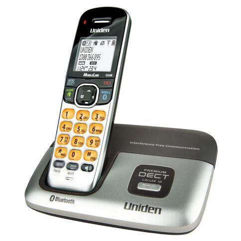 Uniden Premium Dect3216 Cordless Phone Silver