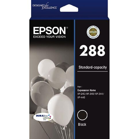 Epson 288 DURAbrite Ink Black (175 pages)