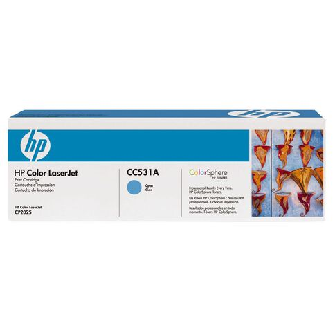 HP Toner CC531A Cyan (2800 Pages)