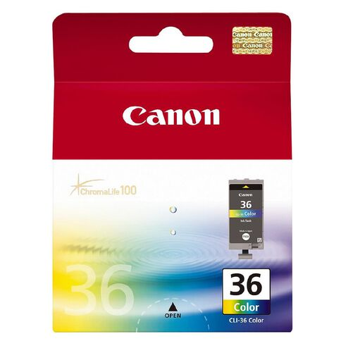 Canon Ink CLI36 Colour (249 Pages)