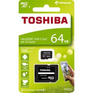 Toshiba 64GB Micro SD Card With Adapter