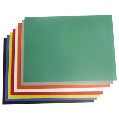 Plasti-Flute Sheet 600 x 450mm Yellow