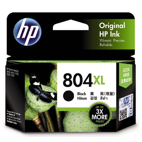HP Ink Cartridge 804XL Black (600 Pages)
