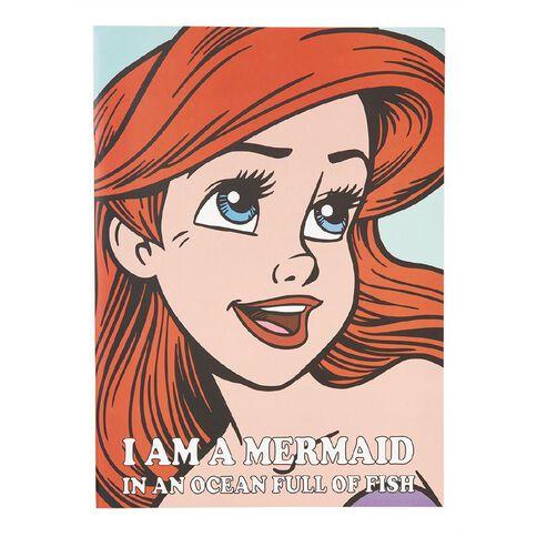 Disney Princess Disney Princess Scrapbook Ariel Face