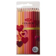 Jasart Studio Coloured Pencils Love 12 Pack