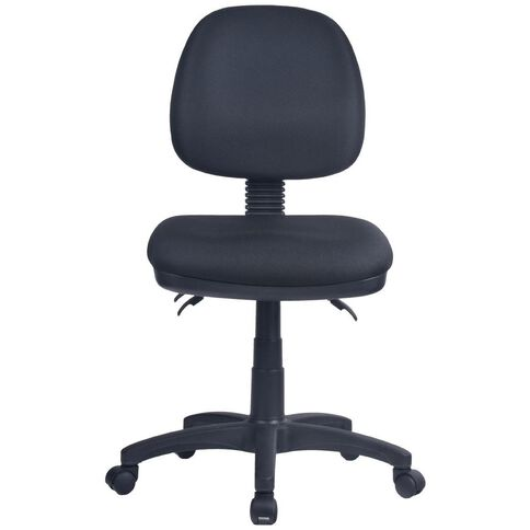 Workspace 3 Lever Midback Chair Black Black