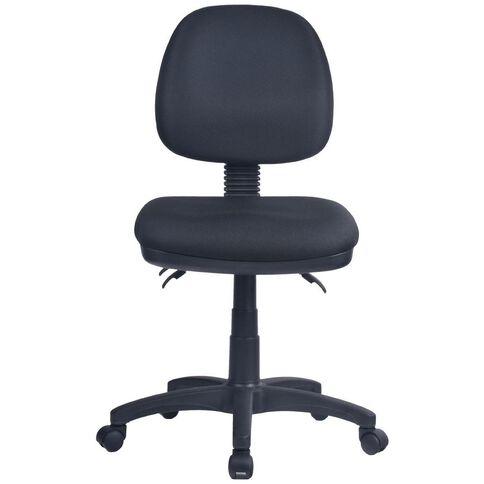 Workspace Ergo 3 Lever Midback Chair Black Black