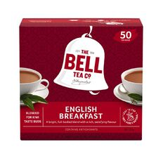 Bell English Breakfast Box 50 Tagless Tea Bags