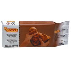 Jovi Clay Air Hardening 1kg Terracotta Brown