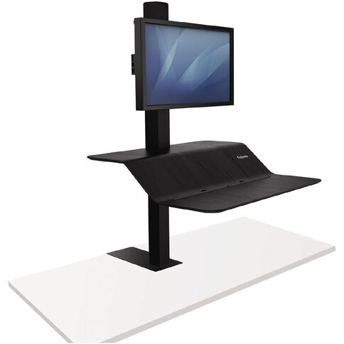 Fellowes Lotus VE Sit Stand Single Black