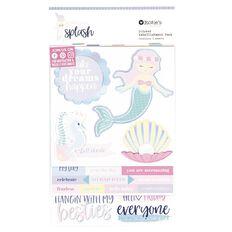 Rosie's Studio Make a Splash Layered Sticker Pack 3 Sheets