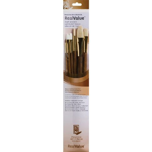 Princeton Artist Brush Co. Brush Taklon Sable Round 2 White