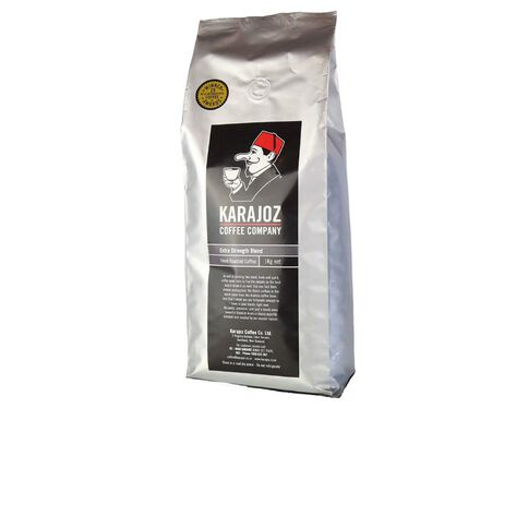 Karajoz Black Label Extra Strength Bean 1kg