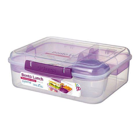 Sistema To Go Bento Box 1.65L Assorted