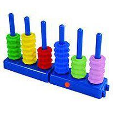 TFC Decimal Place Value Abacus Set