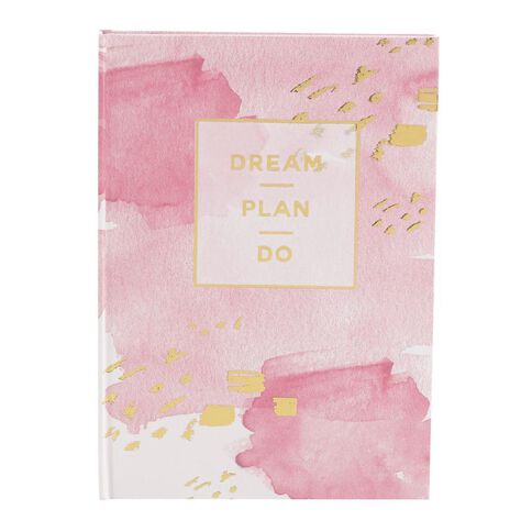 Uniti Dream Hardcover Notebook with Gold Foil A5