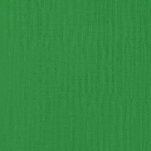 American Crafts Cardstock Textured Emerald 12in x 12in
