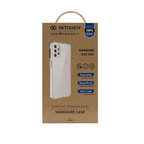 INTOUCH Samsung A32 (4G) Vanguard Drop Protection Case Clear