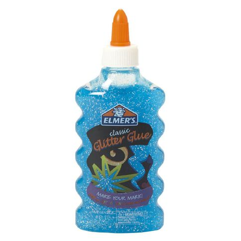 Elmer's Glitter Glue 177ml Blue