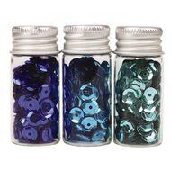 Uniti Sequins Blues 3 Pack