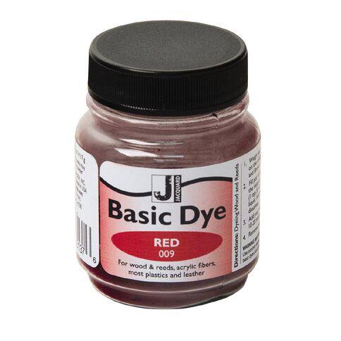Jacquard Basic Dye 14.17g Red