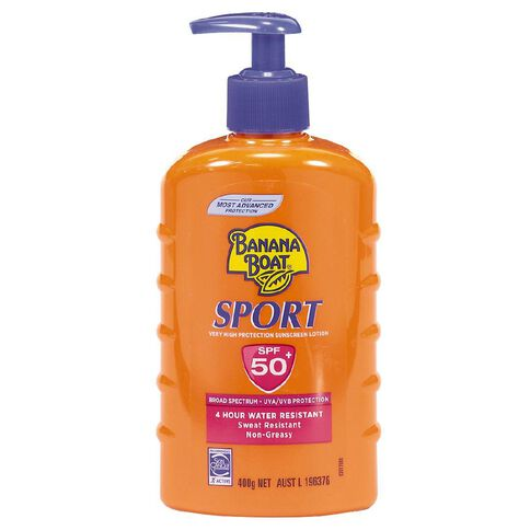 Banana Boat Sports Pump SPF50