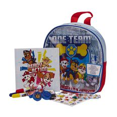 Paw Patrol Art Activity Backpack